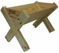 Livestock Deer Feeder Wooden Game Cattle Goat Horse Hunting Standing Trough