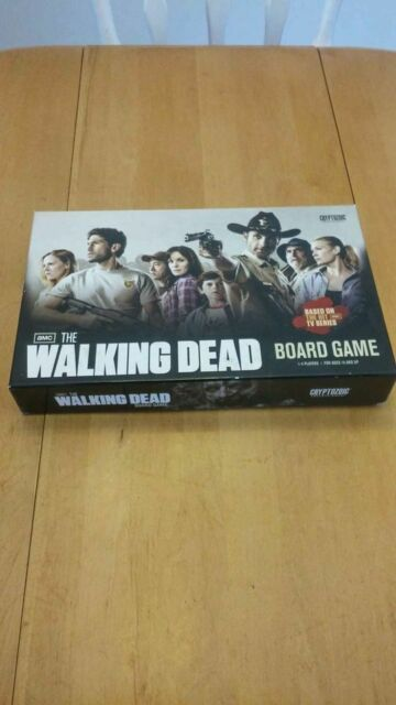 AMC The Walking Dead board game *COMPLETE