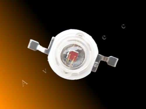 610nm naranja 3w High Power LED 600nm 3w Hi-Power LED-led de alto rendimiento