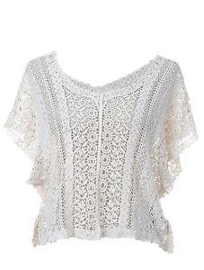 USA-Free-Size-Off-White-Crochet-Inspired-Detail-Bohemian-Poncho-Blouse