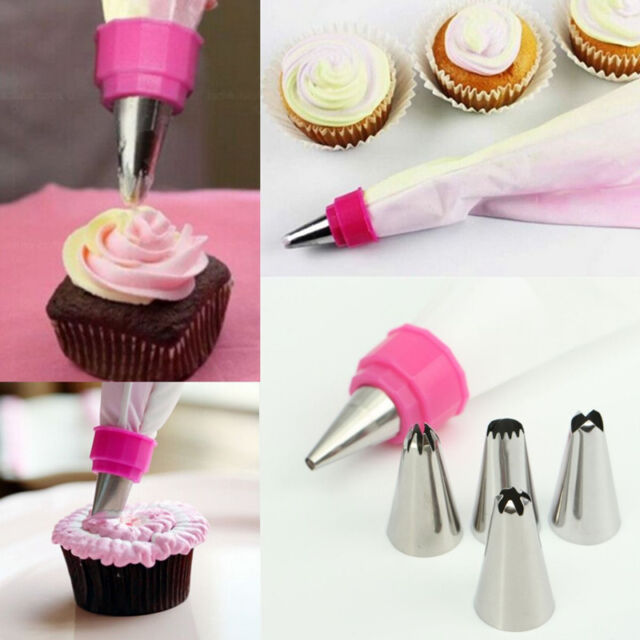Fashion DIY Handmade Icing Piping Bag Nozzle Cake Bread Decor Sugarcraft Tools