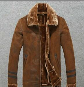 Military Winter Jacket Coat Outwear Thicken Retro Fur Mens Warm Linning Cargo xgqn4wHaS
