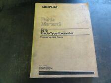 Caterpillar Cat 307b Track Type Excavators Parts Manual Xebp7738