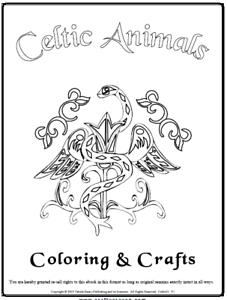 Malbuch 85 Malvorlagen Keltische Färbetiere Ausmalbilder Als Pdf