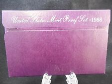 1988 UNITED STATES 5-COIN PROOF SET ORIGINAL PACKAGING