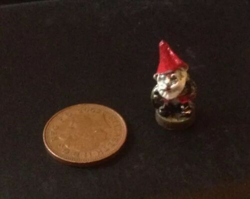 Dolls House Hand Painted  Garden Gnome....FREE POSTAGE