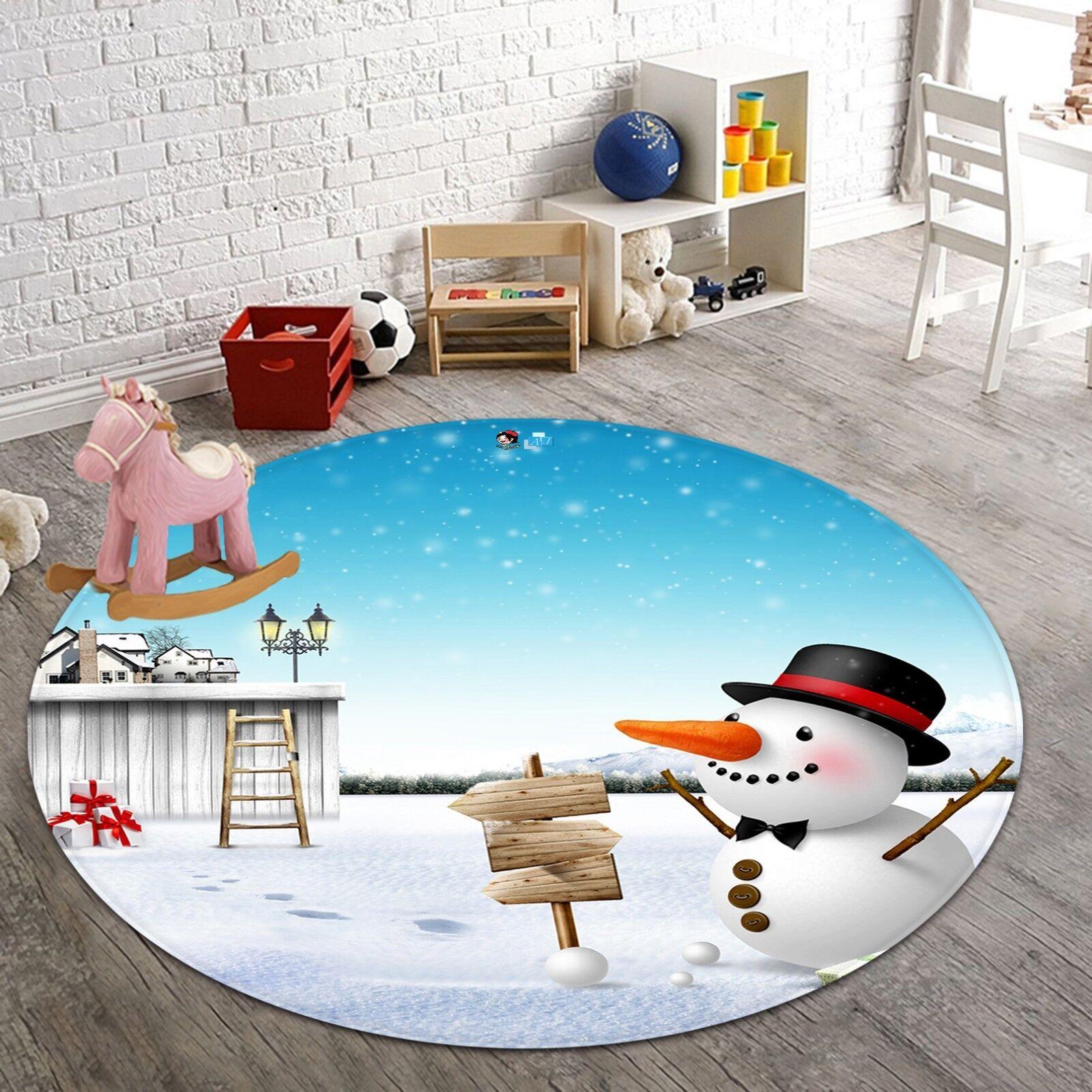 3d Natale Xmas 602 antiscivolo tappeto tappetino vano giri elegante TAPPETO de