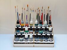 Paint Bottle Rack Modular Organizer for VALLEYO, HATAKA, MIG  Paint 24 Pots