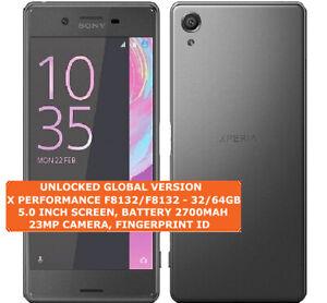 Sony Xperia X Performance F8131/F8132 Simple / Double SIM 3gb 32/64gb Smarphone