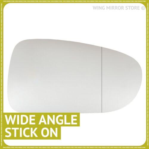 Droit Côté Conducteur Angle Large Aile Porte Miroir Verre Pour VW SHARAN 1995-1998