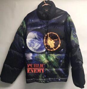 Supreme Undercover Public Enemy Puffer Jacket Winter Coat Size XL