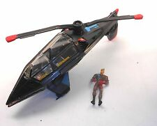 1996 Jonny Quest Action Figures - CYBER COPTER with Figure