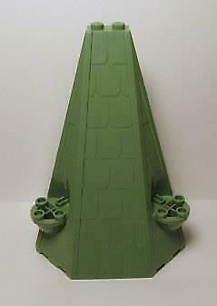 Roof Piece 6 x 8 x 9 Half Pyramid SAND GREEN 33215 LEGO Parts~ 1