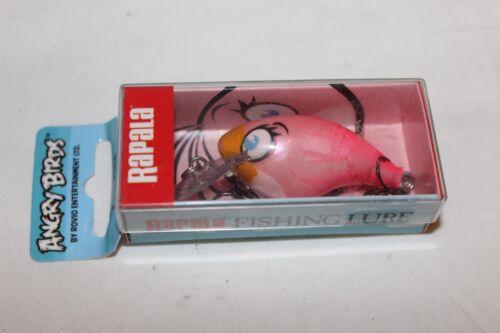 """RAPALA WOBBLER-/""""ANGRY BIRDS/""""-PINK BIRD-NEU"""