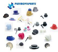 PLAYMOBIL *  HATS BAGS   <>< MAX UK POST £1-98 PER INVOICE ><> multi