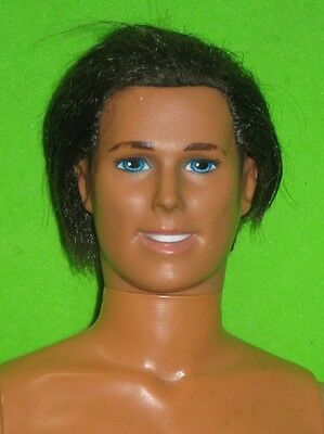 BROWN ROOTED HAIR KEN DOLL-SUPER STAR BODY-NUDE FOR ONE OF A KIND