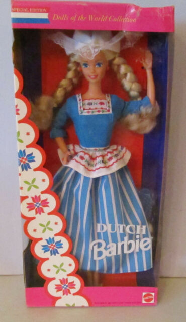 NEVER REMOVED FROM BOX DOLLS OF THE WORLD 1994 DUTCH BARBIE DOLL