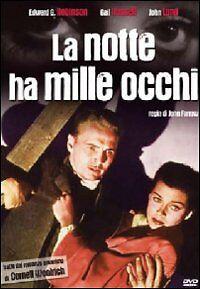 Dvd-Video-LA-NOTTE-HA-MILLE-OCCHI-nuovo-sigillato-1948