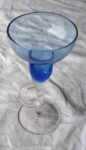 Bougeoir en verre de Murano authentique - France - Bougeoir en verre de Murano Authentique , Hauteur : 15 cm - France