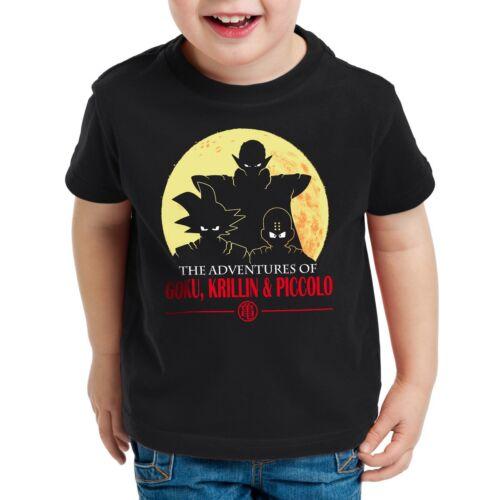 Goku Krillin Piccolo Bambini T-Shirt Dragon son palla Roshi kuririn BALLS Vegeta
