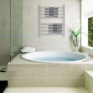 Bathroom Electric Stainless Steel Towel Bar Warmer Heater Dryer Rack