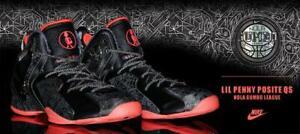 b61da66f54f7a Nike Lil Penny Posite size 13. NOLA Gumbo Black Atomic Red 652121 ...