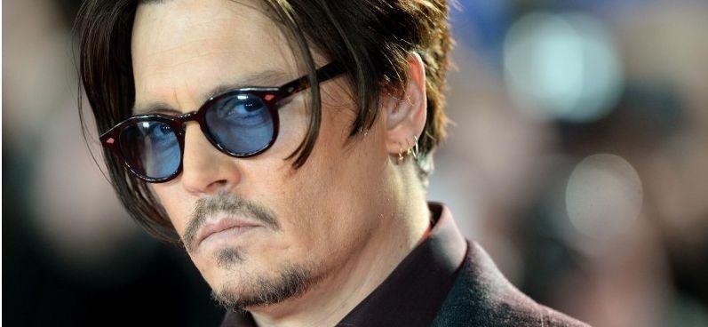 f5a3e83a560 Retro Vintage Johnny Depp Sunglasses Mens Tortoise Acetate Frame ...