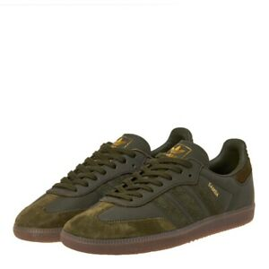 f685d28d9 Adidas Samba Og ft Night Cargo & Gold Met Bd7526 Sneakers | eBay