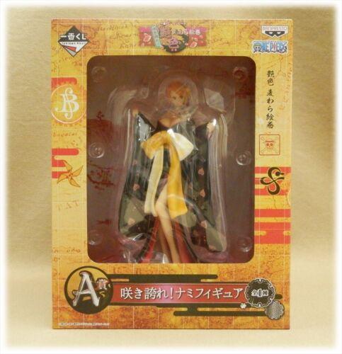 A Prize Figure Ichiban kuji One Piece Adeiro Nami kimono Ver
