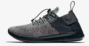 Nike Women's Free RN CMTR 2017 Premium Running Shoe Cobblestone/Black AA1622 001