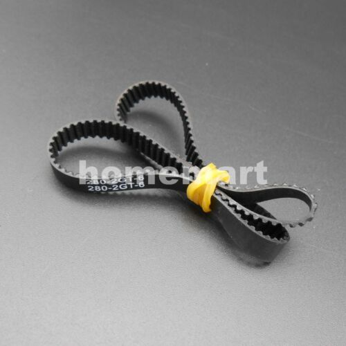 2GT 2GT-200 232 280 400 600 900 1220 Open Closed loop synchronous belt 6mm Belts