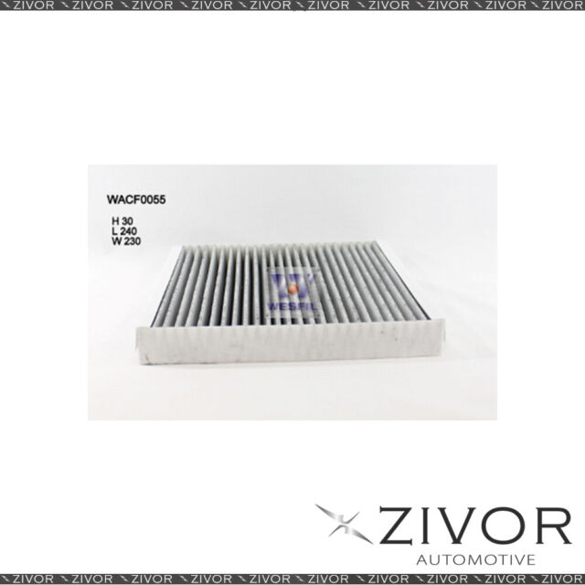 WESFIL CABIN Filter For BMW Z4 2.0L 10/11-01/19 -WACF0055* By Zivor*