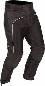 Buffalo-Coolflow-Black-Textile-Mesh-Summer-Motorcycle-Trousers-New-64-99