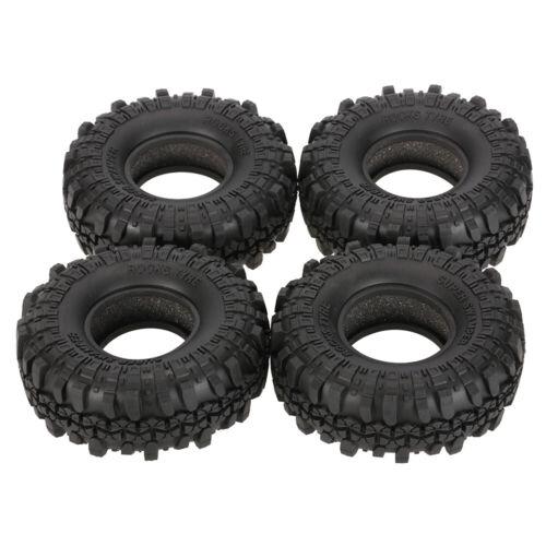 4Pcs AUSTAR AX-4020 1.9 Inch 110mm 1//10 Rock Crawler Tires FOR RC4WD Car H0Z8