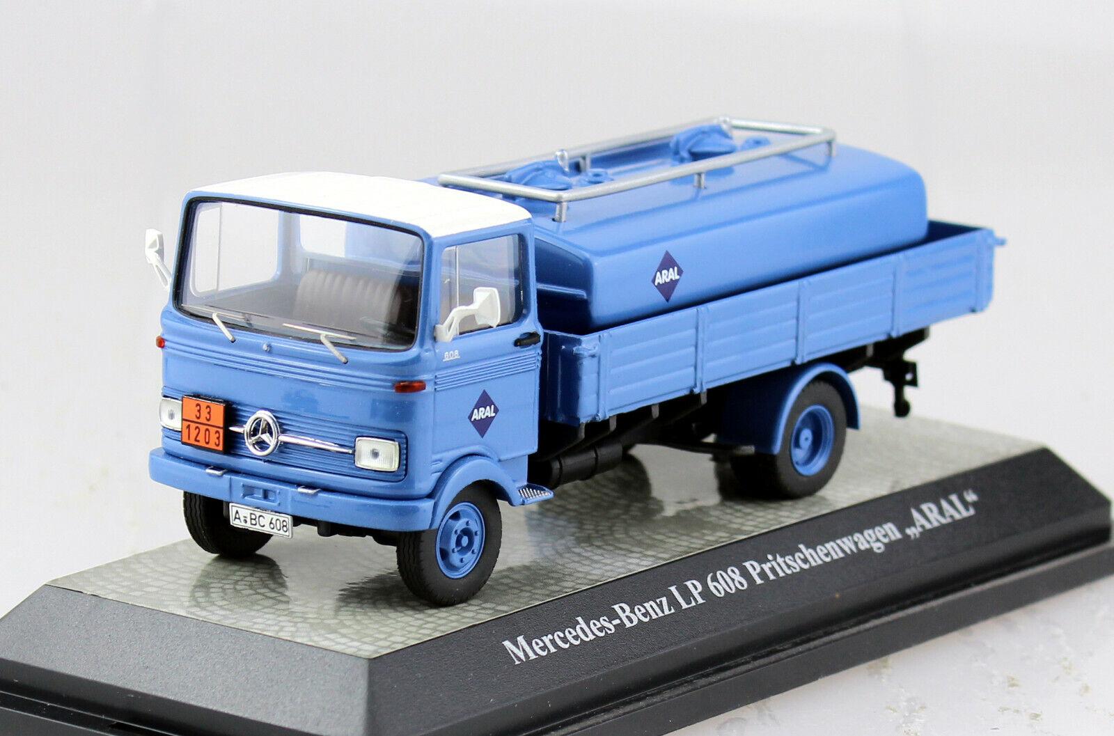 Mercedes LP 608 camión cisterna Aral 1 43 premium classixxs maqueta de coche