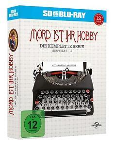 Mord ist ihr Hobby - Gesamtbox - [SD on Blu-ray] *NEU* DEUTSCH Staffel 1-12