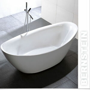 freistehende badewanne acryl bellagio wei 180x86cm standarmatur 8028 ebay. Black Bedroom Furniture Sets. Home Design Ideas