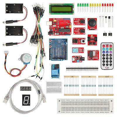 Geeetech Iduino UNO starter kit,LCD 1602,stepper motor Protoboard Buzzers relay