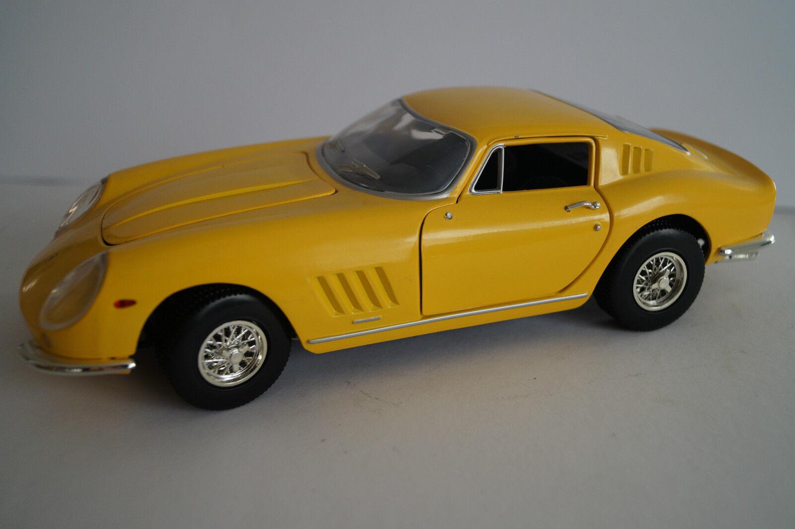 Ertl coche modelo ferrari 1 18 gtb-4 1966