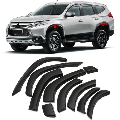 Front&rear Arch Wheel Fender Flares Protector For Mitsubishi Montero Sport 16-18