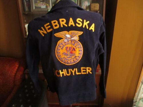 VTG National FFA Corduroy Jacket SCHUYLER NEBRASKA