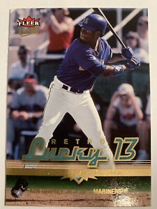 2006-Fleer-Ultra-Retro-Lucky-13-Ken-Griffey-Jr-Gold-Seattle-Mariners