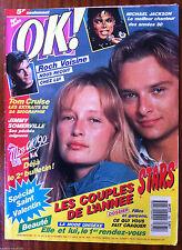 b)Ok Magazine n°735; Tom Cruise/ Michael Jackson/ Roch Voisine/ J. Sommerville