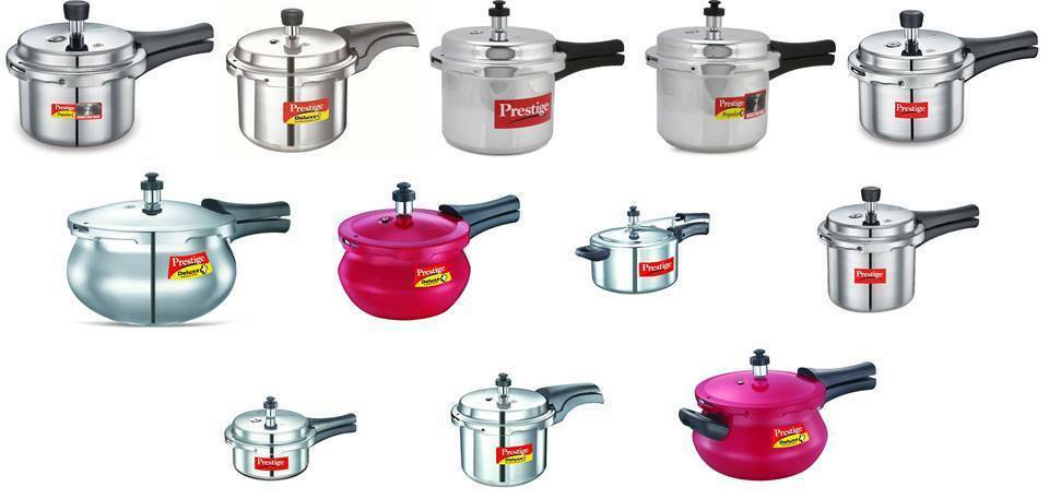 Prestige  Pressure Cookers  Outer Lid  Mini  Aluminium  Choose From 12