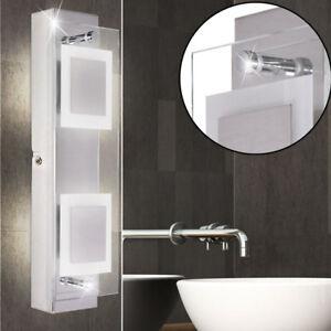 Dettagli su Design Led Faretto da Parete Lampada Umidità Bagno Specchio  Illuminazione