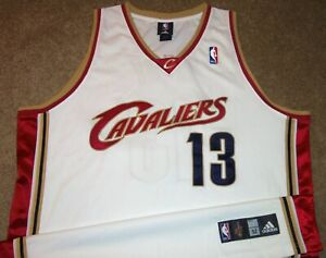 d4db984360ca Details about VTG AUTHENTIC DELONTE WEST CLEVELAND CAVS CAVALIERS ADIDAS HOME  JERSEY 52 SEWN!