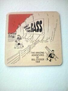 coaster Bass retro /'Beermat/'