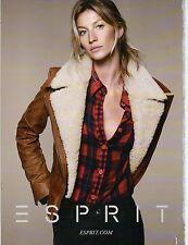 Publicité Advertising 2011  ESPRIT pret à porter collection mode