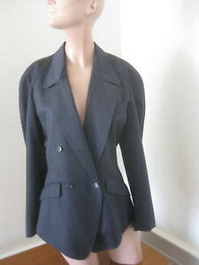 KENZO-Paris-STUNNING-Womens-Vintage-BUCKLE-BACK-FLARE-Jacket-38