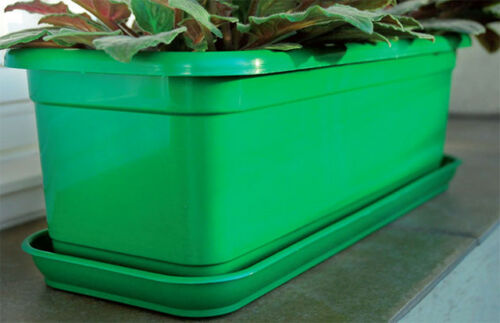 verde marrone Paracolpi per cassetta da balcone Venere 30cm-80 CM TERRACOTTA bianco